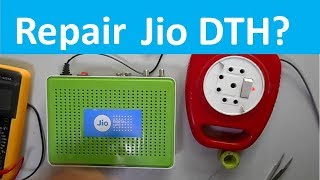 How to Repair Fully Dead Jio DTH (Free to Air) Receiver Easily