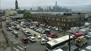 NJ TRANSIT HOBOKEN TERMINAL TRAIN CRASH (SPECIAL OPS AUDIO) 9-29-16