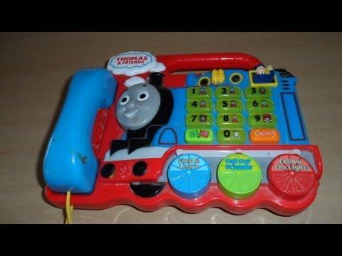 THOMAS THE TANK ENGINE TRAIN KINDERGARTEN SPEAKING PHONICS TELEPHONE