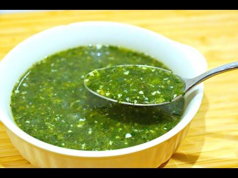 طريقة عمل الملوخية المصري (نسخة عربي)...(Molokhia/Egyptian Jute plant soup recipe (Arabic version
