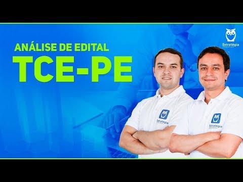 Concurso TCE-PE 2017: Análise do Edital
