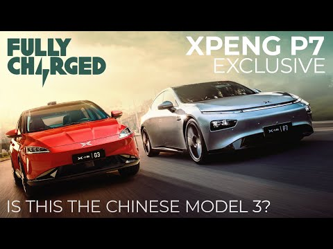 Xpeng P7 Exclusive - Is this the Chinese Model 3? | Fully Charged