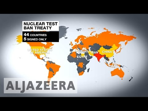 Nuclear Test Ban Treaty Incomplete, 20 Years On