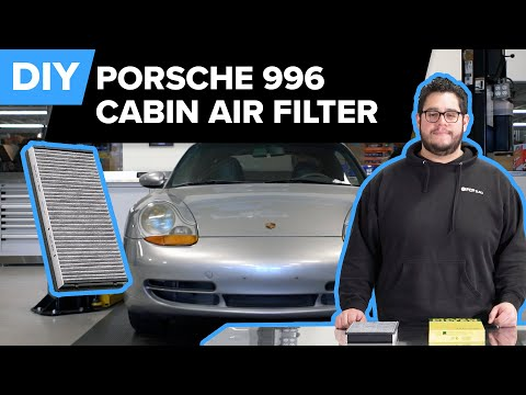 Porsche 996 911 Cabin Air Filter Replacement DIY – Porsche Carrera, Carrera S, Turbo, Turbo S, & GT3