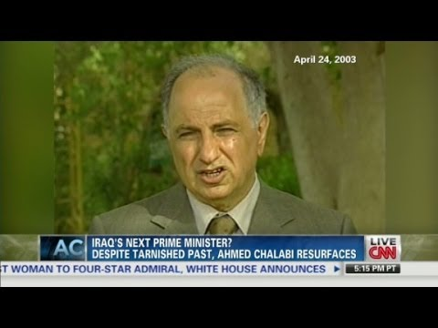 Iraq: Chalabi Returns?