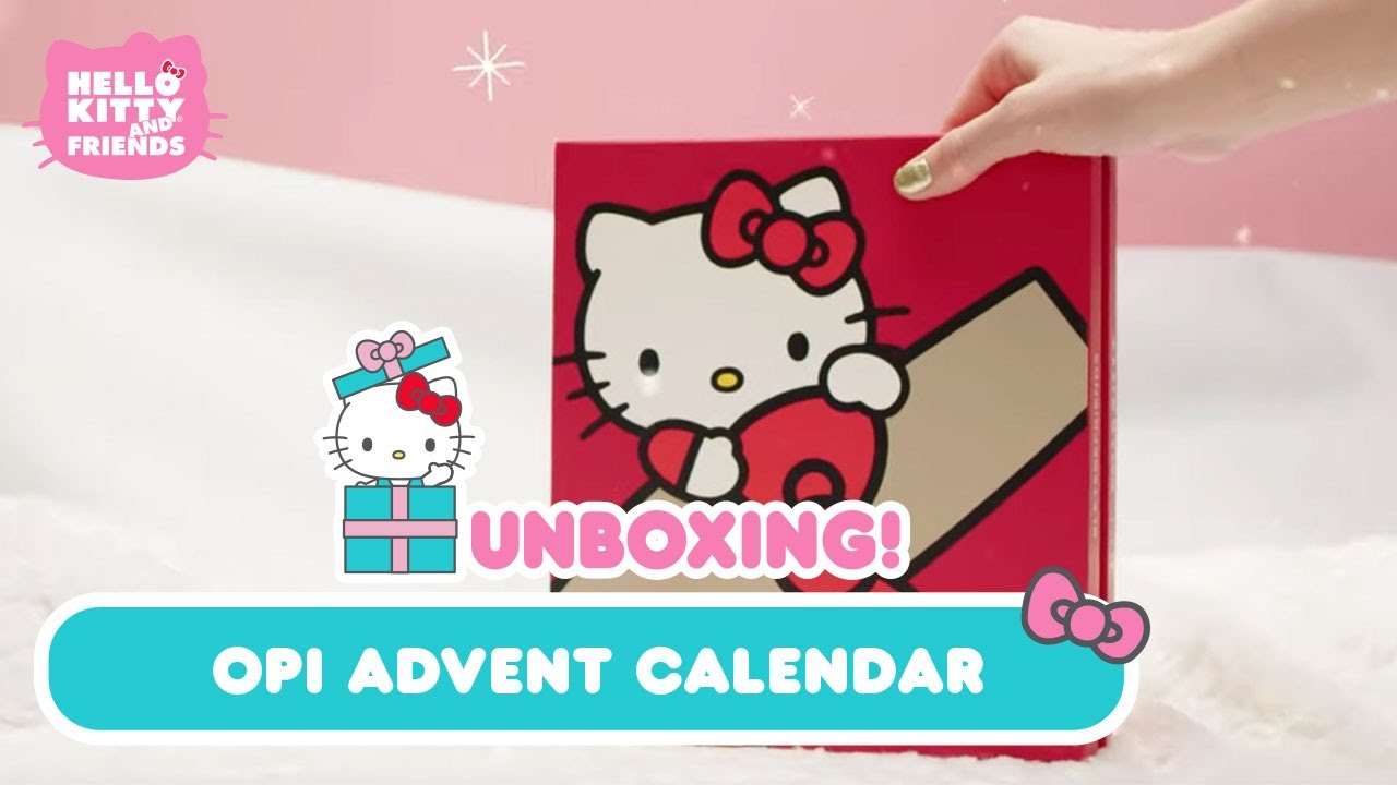 Hello Kitty Opi Nail Lacquer Advent Calendar Unboxing Youtube Our company may receive a payment if you purchase products from them after following a link from this website. hello kitty opi nail lacquer advent calendar unboxing