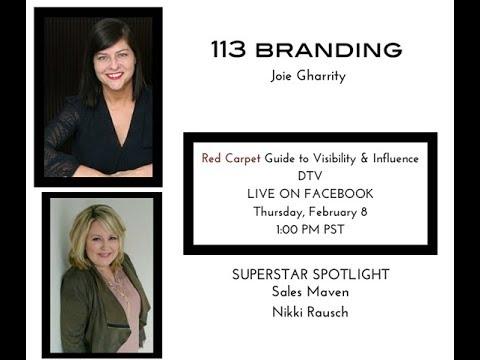 113 BRANDING Red Carpet Web TV Featuring Nikki Raush