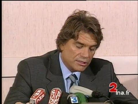 Conférence de presse Tapie