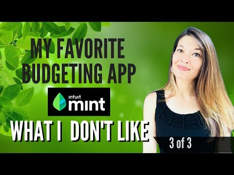 My Favorite Budgeting App Mint.com - What I Don't Like (3 of 3)