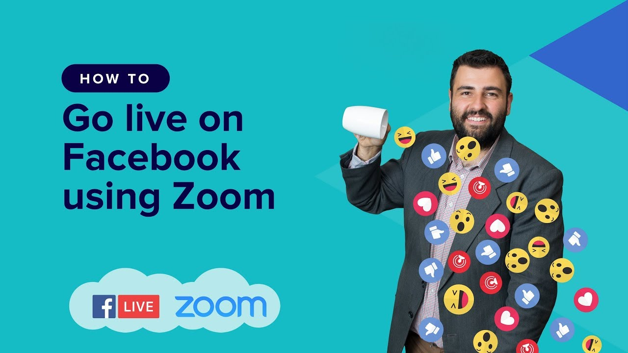 Turn Your Zoom Meeting into a Live Webinar on Facebook | WP