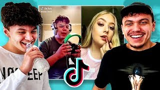 TIK TOK TRY NOT TO LAUGH CHALLENGE vs MY LITTLE BROTHER