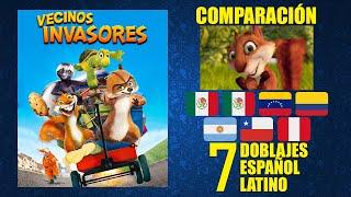 Vecinos invasores pelicula completa en español latino