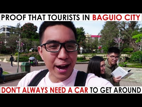 PROOF That Tourists In Baguio City DON'T NEED A CAR