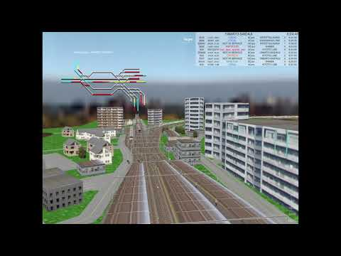 Train Drive ATS 3 (Train Driving Game) Demonstration Yamato-Saidaiji station.