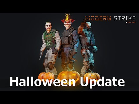Обнова в Модерн страйк!!! Хеллоуин 1.35! Update In Modern Strike Online! Halloween MSO