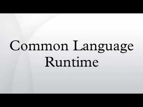 Common Language Runtime