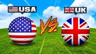 USA vs UK - Golf It!