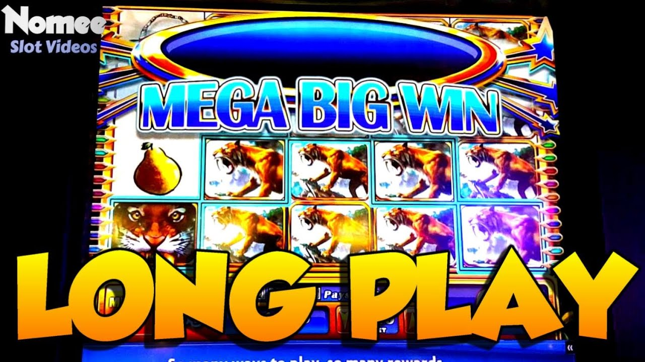 Sabertooth Slot Machine