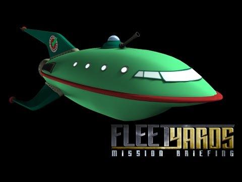 Planet Express Ship (Futurama) - Fleetyards Mission Briefing