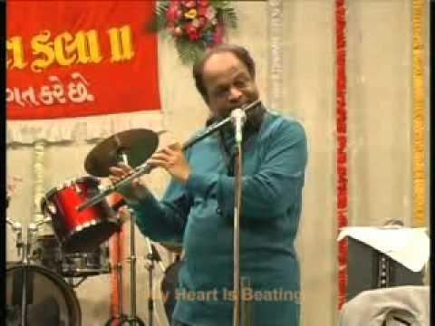 Suresh Yadav on Western Flute My Hart is beating - julie .mpg
