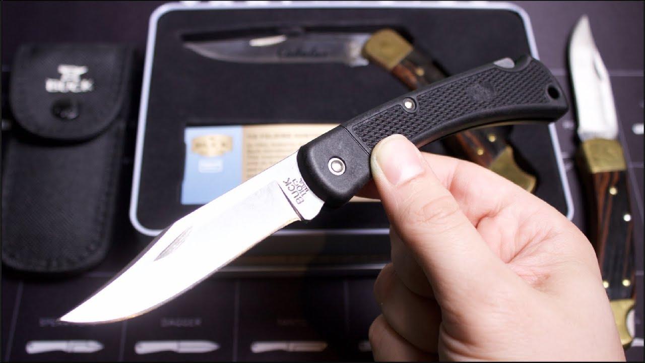 FIRST LOOK: New Buck 110 Lightweight -- USA-Made & Budget Friendly EDC  Knife | Budget Bugout 2018