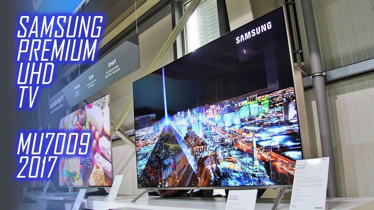 Philips Fernseher Interdiscount : Samsung mu7009 flat premium uhd tv mit hdr 1000 für 2017 youtube