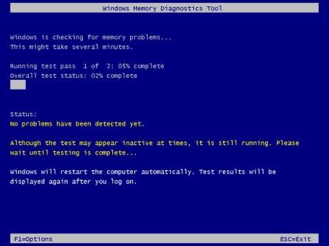 How To Run Memory Diagnostics Tool Windows 7