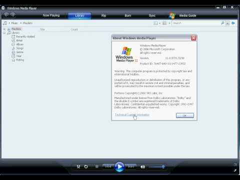 Video Codec Discovery in Windows XP & Vista