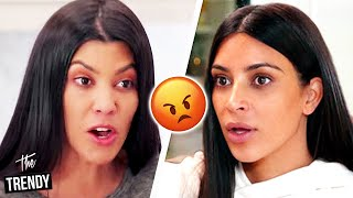 Kim Kardashian Calls Out Kourtney Kardashian Over KKW Beauty Makeup Products