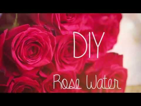 How to make Rose Water ♥ DIY