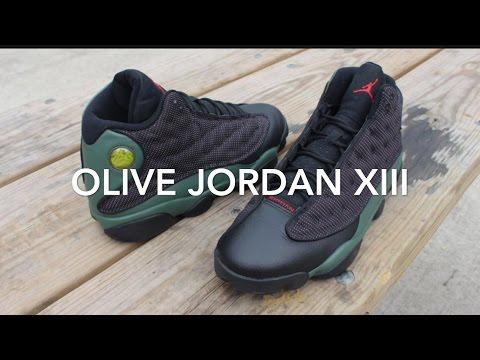 the latest ec8f1 a51b6 Olive Jordan 13