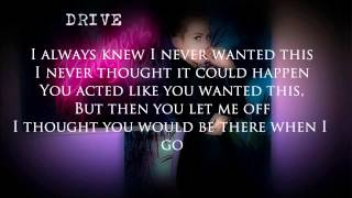 Repeat youtube video Miley Cyrus - Drive (Official Lyrics)
