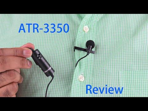 Audio technica atr 3350 manual