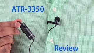 Audio Technica ATR 3350 Lavalier Microphone Review   and Test