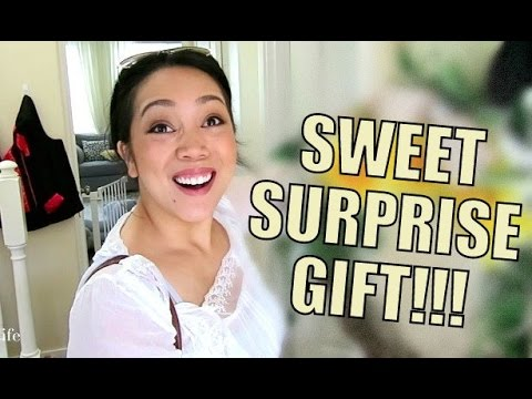 SWEET SURPRISE GIFT! - May 26, 2015-  ItsJudysLife Vlogs