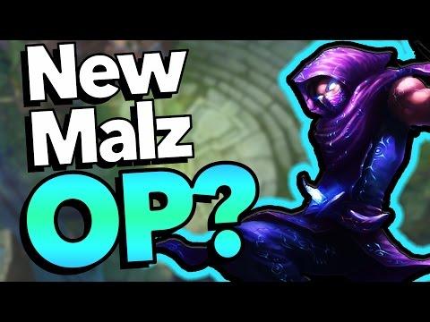 HOW GOOD IS REWORK MALZAHAR? - League of Legends