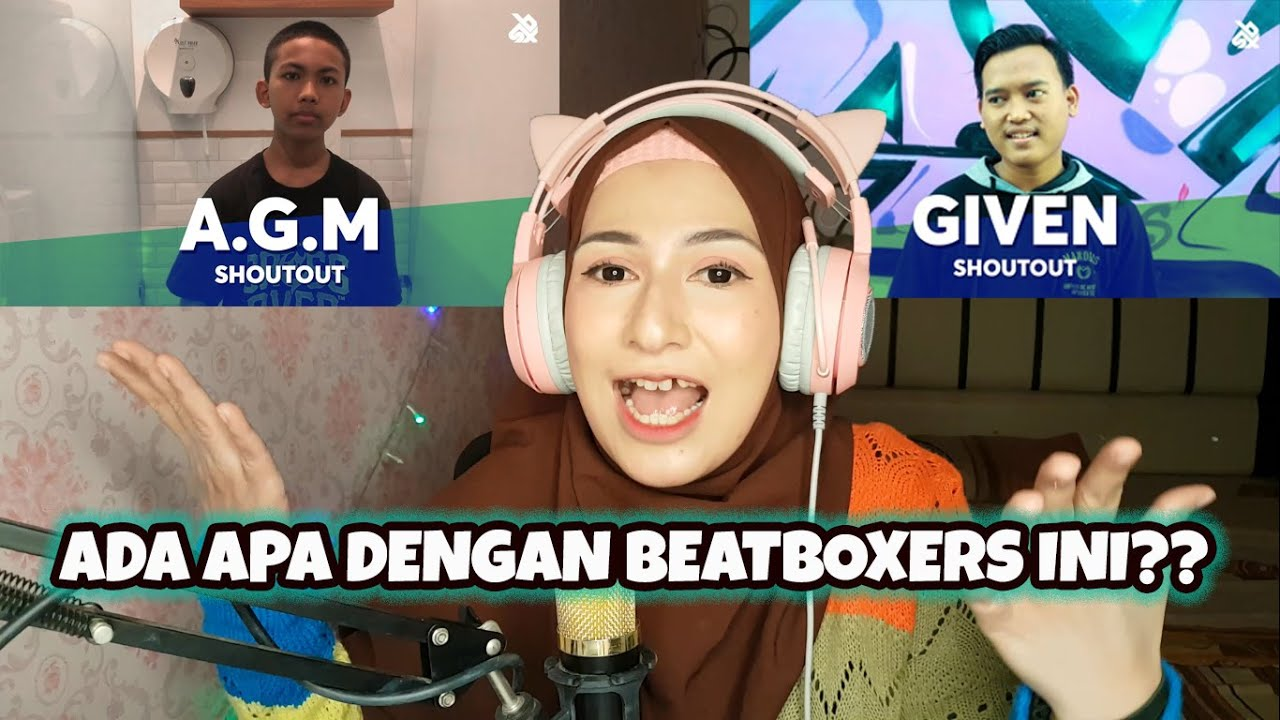 Reaction Beatboxer Muda Indonesia A.G.M dan Given