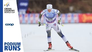 Charlotte Kalla | Ladies' 10 km. | Lillehammer | 3rd place | FIS Cross Country