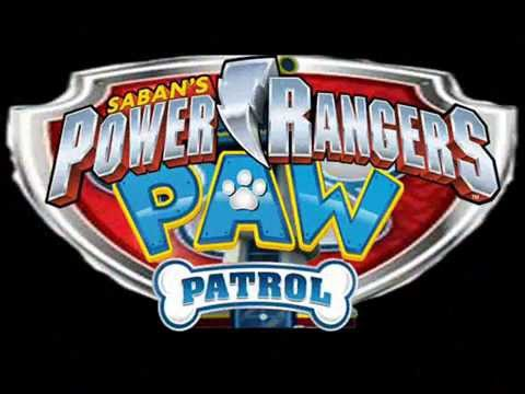 Power Rangers Paw Patrol Megaforce
