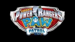 Power Rangers Paw Patrol Megaforce