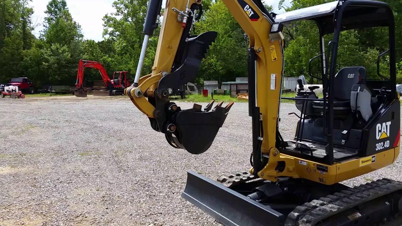 Cat 302 4d Mini Excavator