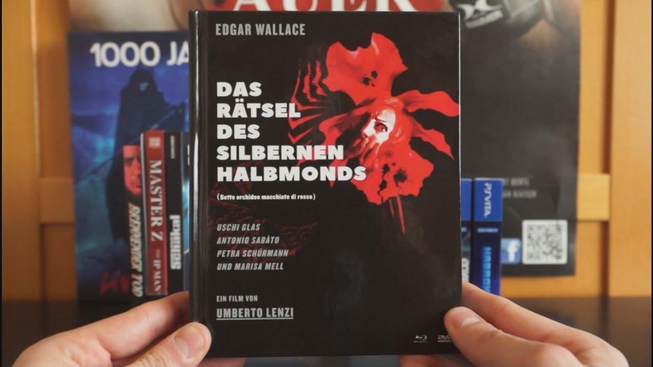 Download DAS RÄTSEL DES SILBERNEN HALBMONDS (DT Blu-ray Mediabook) / Zockis Sammelsurium Nr. 1955