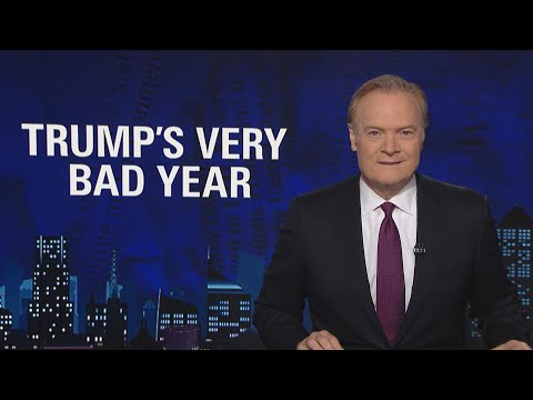 Lawrence O'Donnell on Donald Trump's Very Bad Year | The Last Word | MSNBC