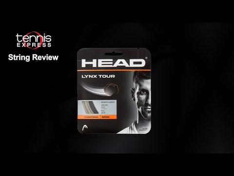 6 sets Head Lynx Tour 17g Tennis Strings