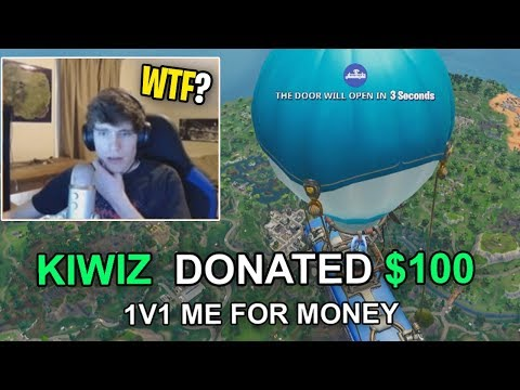 Donating To Twitch Streamers Who BEAT ME In A 1v1 on Fortnite Playground...