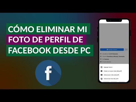 Cómo Quitar o Eliminar mi Foto de Perfil de Facebook Desde PC