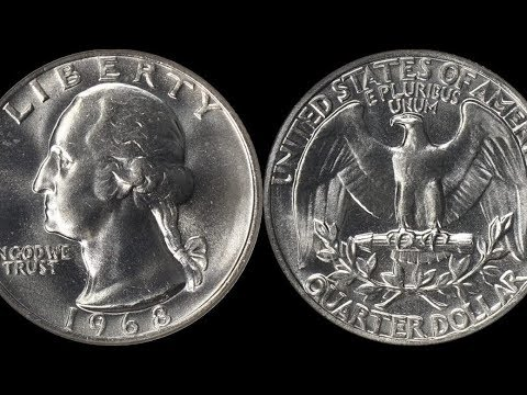 RARE GRADE 1968 Washington Quarter Sells for $1,800!  Check Your Change for These Coins!