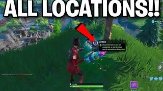 All Fortbyte Locations! ALL FORTBYTE Hidden Rewards 1-100 -Fortnite Battle Royale