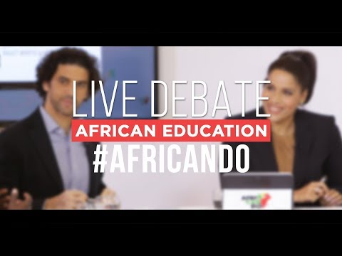 AfriCanDo live debate: African Education