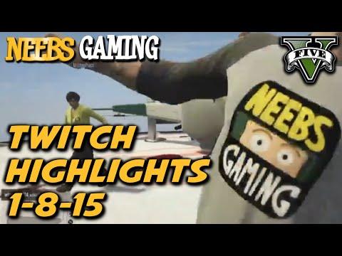 Neebs Gaming Live Stream Highlights! - 1/8/15